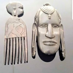 Vintage African and native American masks